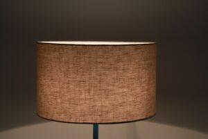 Solenne Cylinder Linen Lampshade