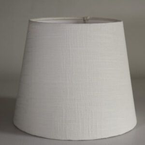 Artic Conical Linen Lampshade Front
