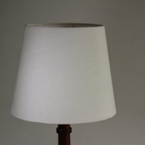 Artic Conical Linen Lampshade (12 Inch, White)