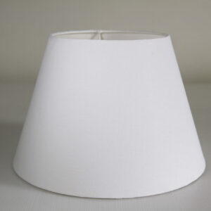Marble Conical Cotton Lampshade Front