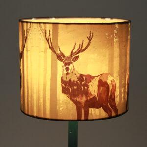 Antelope Print Lampshade