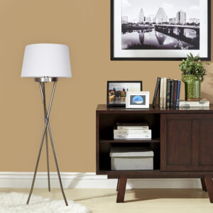 Minsor Metal Tripod Floor Lamp