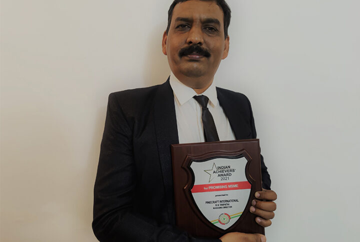 PineCraft International Bags Indian Achievers' Award 2021 for Promising MSME